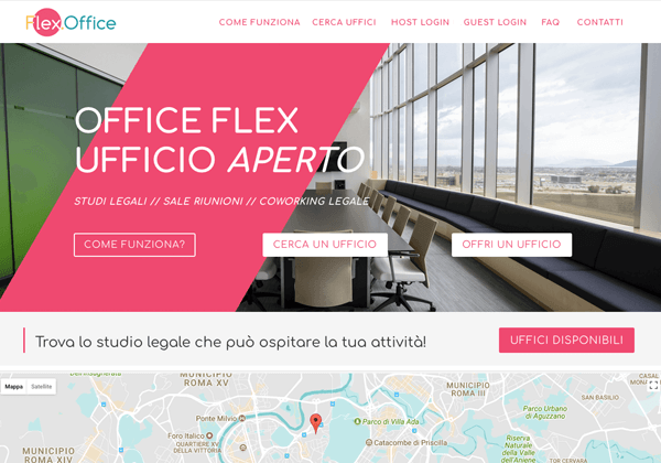 Truly Social design for FlexOffice
