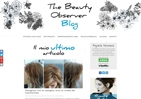 Truly Social for The Beauty Observer blog