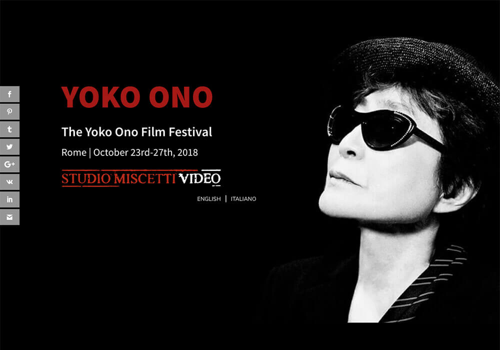 Truly Social for The Yoko Ono Film Festival